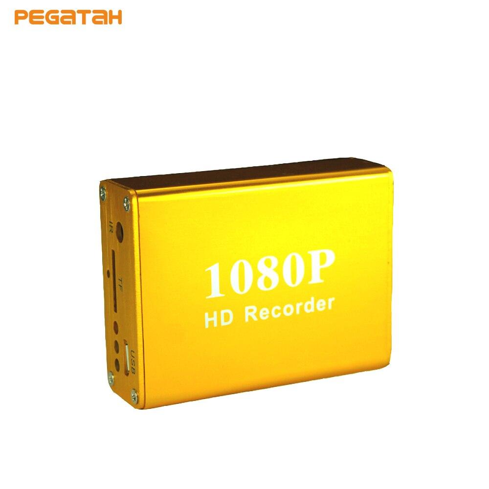 Nouveau 1080 P Mini AHD TVI Vidéo Enregistreur DVR 720 P temps Réel CCTV DVR Soutien SD Carte 128 GB 5 V-30 V Alimentation IR télécommande