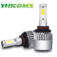 YHKOM Car Headlight 9005 9006 LED Bulb H4 H7 H1 H3 H8 H9 H11 H13 9004
