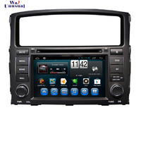 WANUSUAL 7 Android 6.0 Car Radio Player for Mitsubishi Pajero V97 V93 2006 2007 2008 2009 2010 2011 with BT WIFI 1024*600 Maps