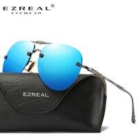 Ezreal ماركة أزياء النساء شعبية تصميم شمس الصيف hd بولارويد عدسة نظارات شمس مع حالة الأصلي