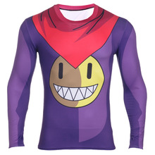 2016 Modemerk Anime Dragon Ball Z Vegeta T-shirt Mannen Super Saiyan Goku New Fitness Cosplay 3D T-Shirt Hot tshirt homme