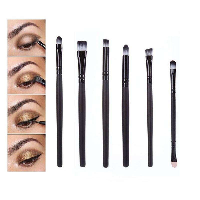AddFavor Eye Makeup Brushes Set Kit Tools Eyeshadow Eyebrow ...