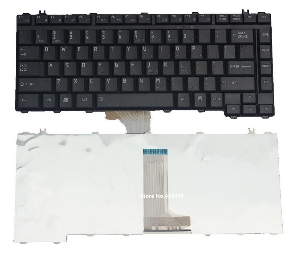 SSEA New US Keyboard for Toshiba Satellite A200 A205 A210 A215 L200 L300 L300D M200 M205 M305 M305D