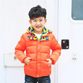 Big Child Down Jacket for Boys Kids Hooded Down Coat Winter Jackets for Teenage Boys 4-12T 2 Color Children Outerwear Coat dj060