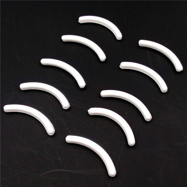 10PCS Replacement Eyelash Curler Refill Rubber Pads Makeup Curling Styling Tools