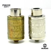 Hcigar maze v2 rda 분무기 케네디 스타일 기류 조절 식 데크 재구성 가능 22mm 직경 dtl 하단 공급