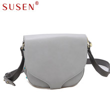 SUSEN 1102 High Quality Women Messenger Bags Cross body Bags for Women Top PU Luxury Leather Shoulder Bag