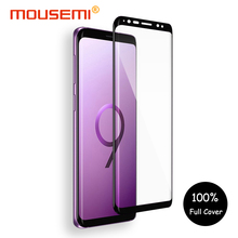 MOUSEMI 3D Glass For Samsung Galaxy S8 S9 Tempered Glass Full Cover Curved Screen Protection For Samsung Galaxy S8 S9 Plus Film