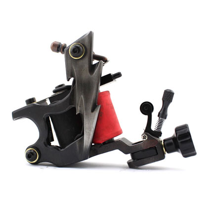 Professional Handmade Tattoo Machine 10-Wrap Coils Iron Cast Frame Custom Tattoo Gun For Liner Shader Free Shipping TM-839 professional handmade tattoo machine 10 wrap coils iron cast frame custom tattoo gun for liner shader free shipping tm 811