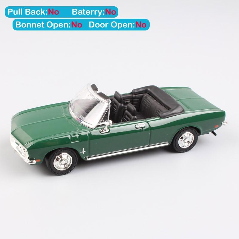 Бренд 1/43 Road Signature 1969 Chevrolet Corvair Monza Кабриолет Металлический Авто Автомобиль Металл литье под давлением модель игрушки для коллекции