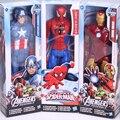 """1 unidades de Marvel Heros Captain America The First Avenger Superhero 12 """"30 CM PVC Figura de Acción de Juguete 4 estilos para elegir"""