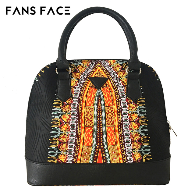 FANS FACE Luxury Handbags Women Bags Designer Traditional African Style High Quality African Fabric Dress Accessories