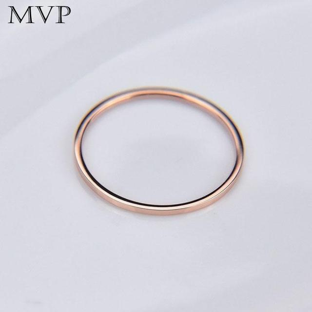 2pcs/set Metal Plated Twist Geometry Ring New Cute Geometry Wedding Rings For Women Jewelry Round Simple Fashion Party Gifts