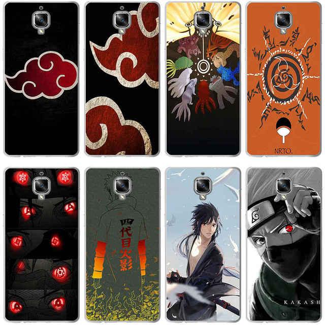 low priced b1dd9 cbceb ... 348GV Hokage Naruto Kakashi Hard Transparent Cover Case for Oneplus 3  3T 5 5T ...
