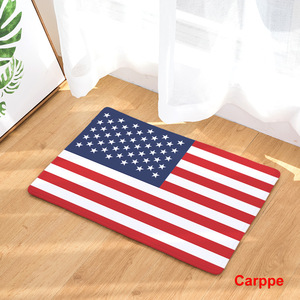 Image 5 - CAMMITEVER United States England Brazil Flag Non slip Mat Foyer Foot Carpet Rug Household Kitchen Door Pad Fashion Rugs