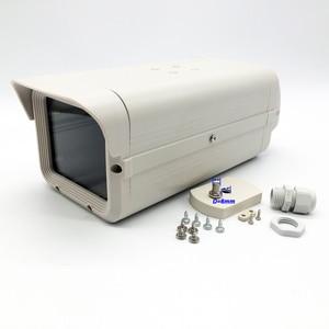 Image 4 - Внешний корпус для камеры видеонаблюдения 275x109x93 мм, алюминиевый серый защитный чехол