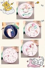 UNICORN Mini Zipper Wallets POCKET PURSE ROUND Fashion Circular fashion unicorn mini round