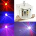 Ac110-240v 18 w controle de som auto 6 ambiente luzes led rgbw dmx512 iluminação de palco dj festa de dança show de luzes de efeito (us)