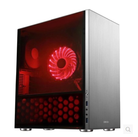 JONSBO C3 aluminum drawing ITX MATX HTPC small chassis all through the mini chassis цена