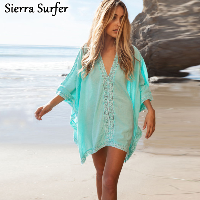 Kaftan Beach Wear Swimwear Women Bathing Suit Cover Ups Tunics For Beach Robe De Plage Saidas De Praia Serviette De Plage ...