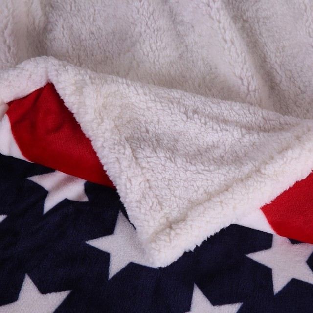 American  BRITISH Throw Blanket 2
