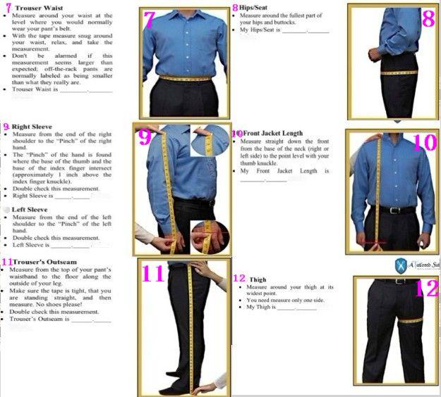Dhëndri i Ri i Arritjes Tuxedo Blue Groommen Notch Lapel Dasma / - Veshje për meshkuj - Foto 4