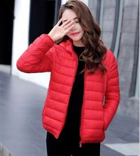 New 2018 Fashion Parkas Spring Winter Female Down Jacket Women Clothing Winter Coat Color Overcoat Women Jacket Parka