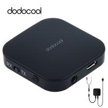 dodocool Bluetooth Audio Receiver Transmitter 3.5mm Aptx Wireless Bluetooth Adapter for TV Headphones Speakers Audio Transmitter