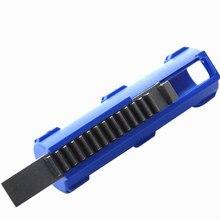 2019Hot بيع SHS الأزرق الألياف عززت الصلب الكامل 14 الأسنان مكبس لالادسنس M4 AK G36 MP5 علبة التروس الإصدار 2/3 AEG ملحقات المسدس