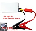 Geek Gene Emergency Mini 12V Car Jump Starter Portable 300A Peak Car Charger USB Mobile Phone Power Bank SOS Lights Free Ship