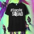 Comando suicida camiseta Joker Harley Quinn Flim Camisetas de Algodón camisetas de Manga Corta Camisetas