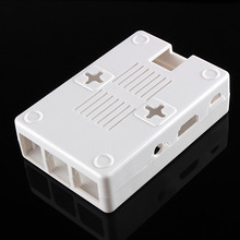 Raspberry Pi 2 Model B ABS Case White ABS Plastic Cover Shell Bag Enclosure Computer Closed Box