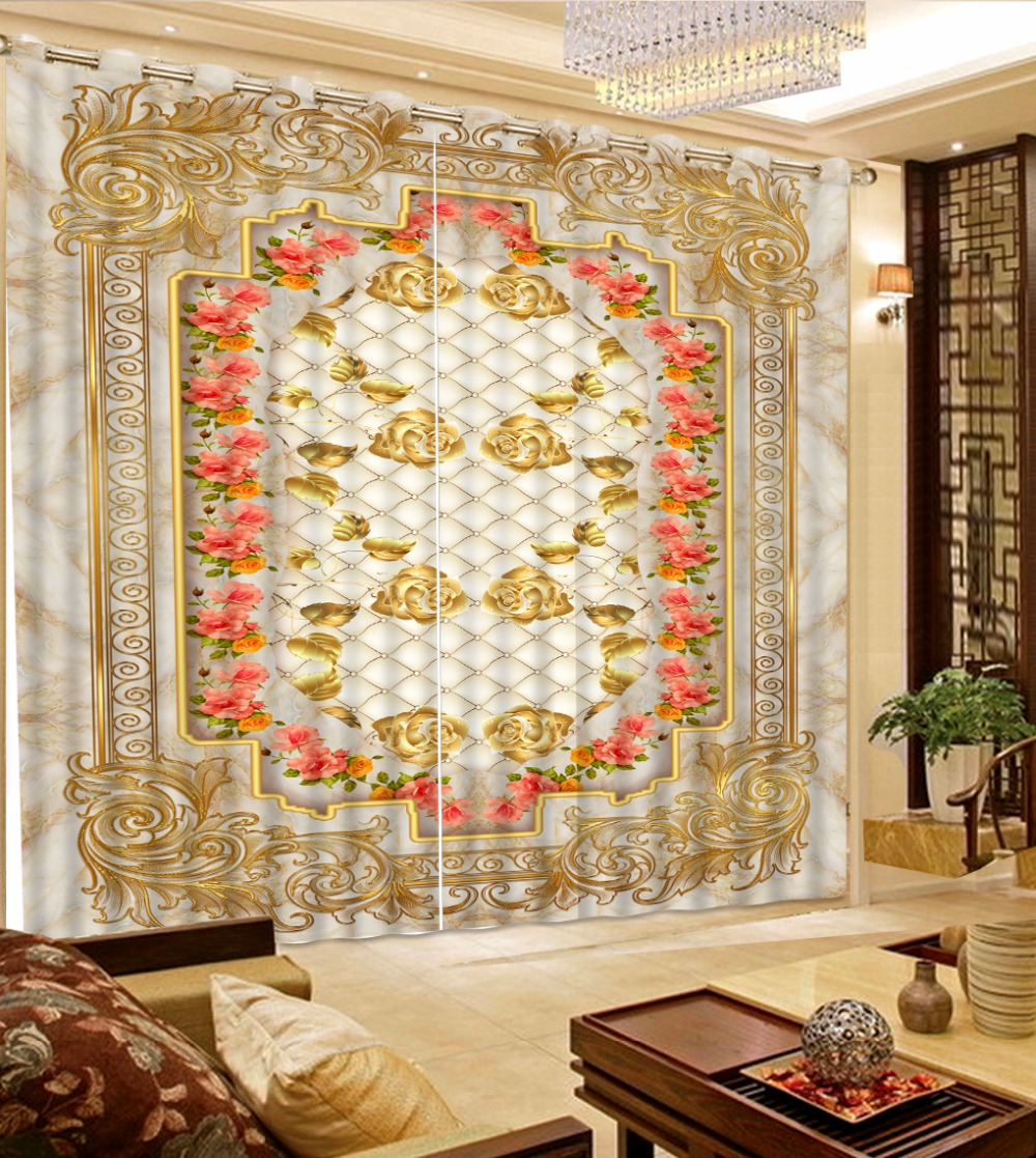 customize 3d curtains European marble rose flowers 3d curtains for living room blackout curtainscustomize 3d curtains European marble rose flowers 3d curtains for living room blackout curtains