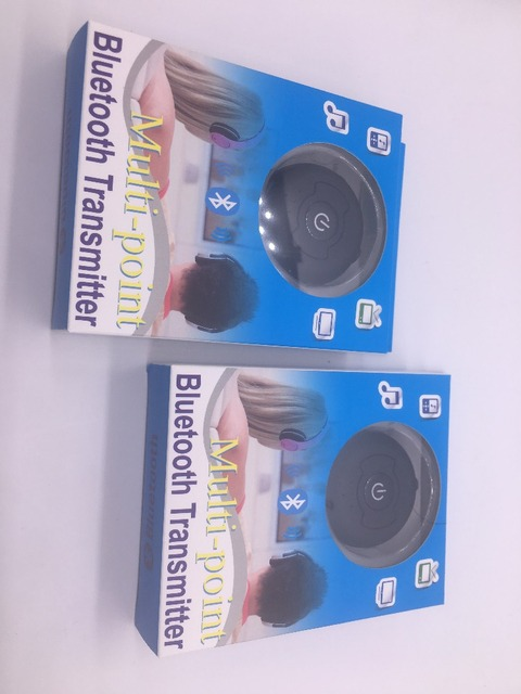 Новые Bluetooth 4.0 Адаптер Передатчик Два наушники или Динамик для одновременного подключения Bluetooth адаптер
