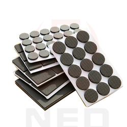 Hot selling 1 24pcs self adhesive furniture leg feet non slip rug felt pads anti slip.jpg 250x250