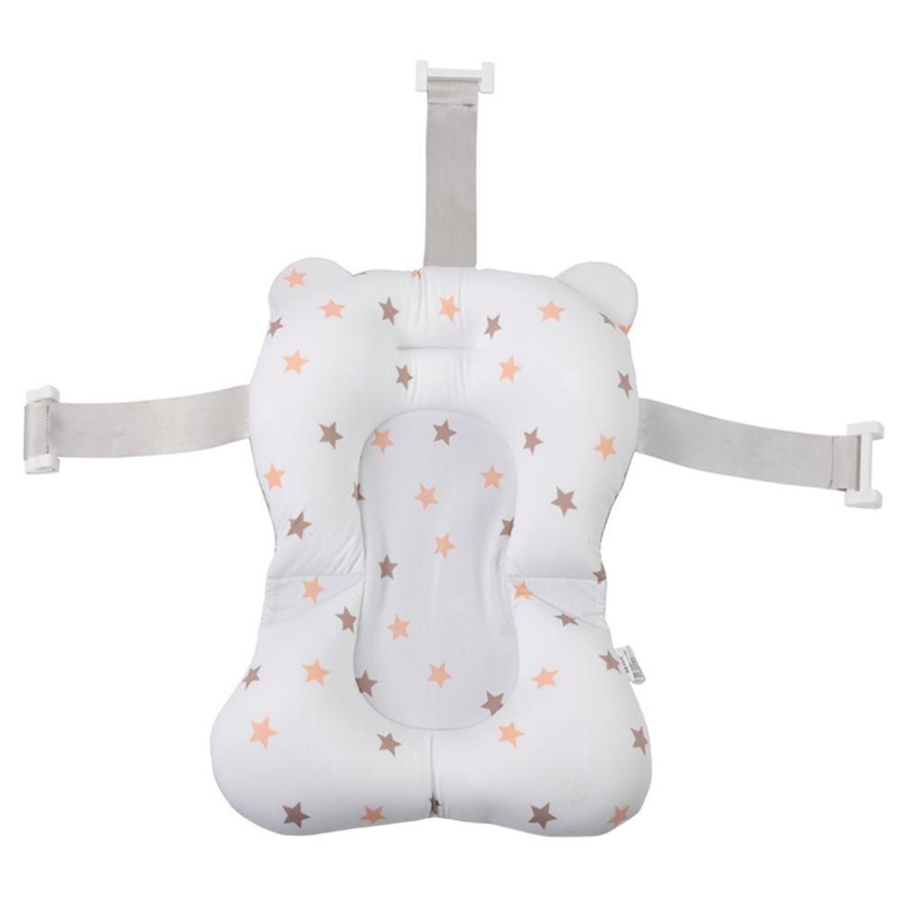 Портативная подушка для душа для младенцев, подушка для ванны для младенцев, нескользящий коврик для ванной для младенцев, безопасная подушка для ванной - Цвет: E3