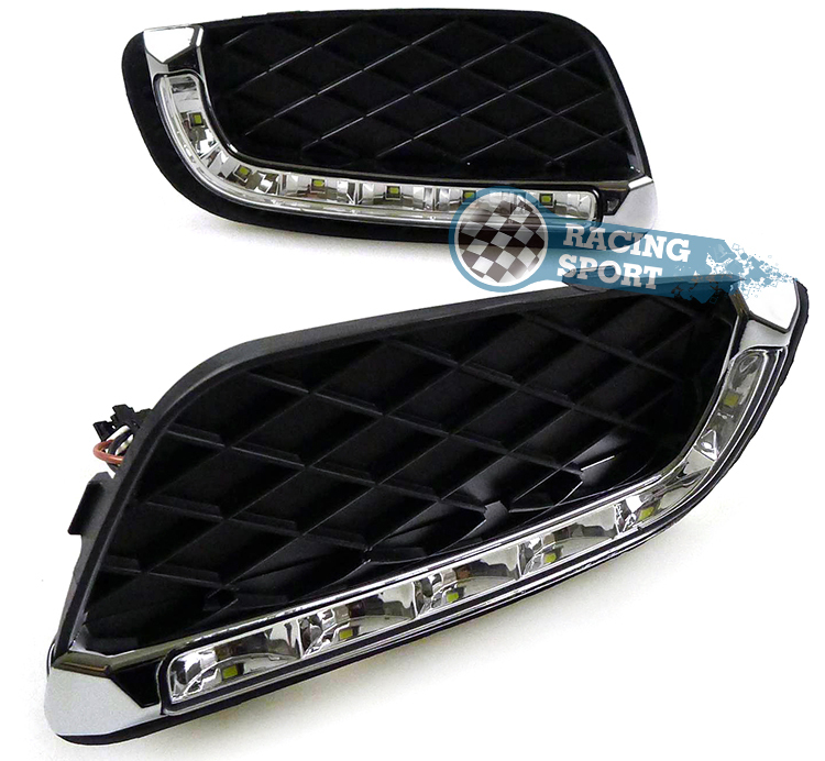 Daytime Running Light DRL12V Fog  Lamp For Mercedes-Benz Smart Fortwo 2008-2011 Get the wonderful car Headlight.2PCS LED auto fuel filter 163 477 0201 163 477 0701 for mercedes benz