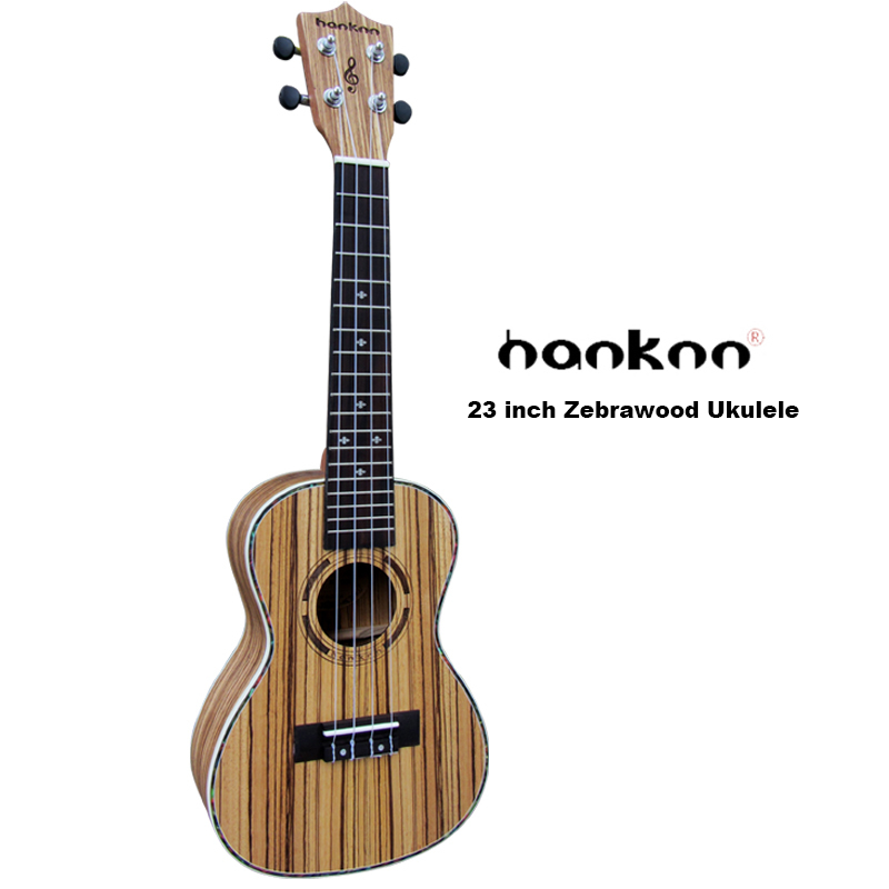 23 Ukulele Guitar Concert Acoustic Guitarra Zebrawood 4-strings uke closed knob Handcraft chinese music instrument hotsell tenor concert acoustic electric ukulele 23 26 inch travel guitar 4 strings guitarra wood mahogany plug in music instrument