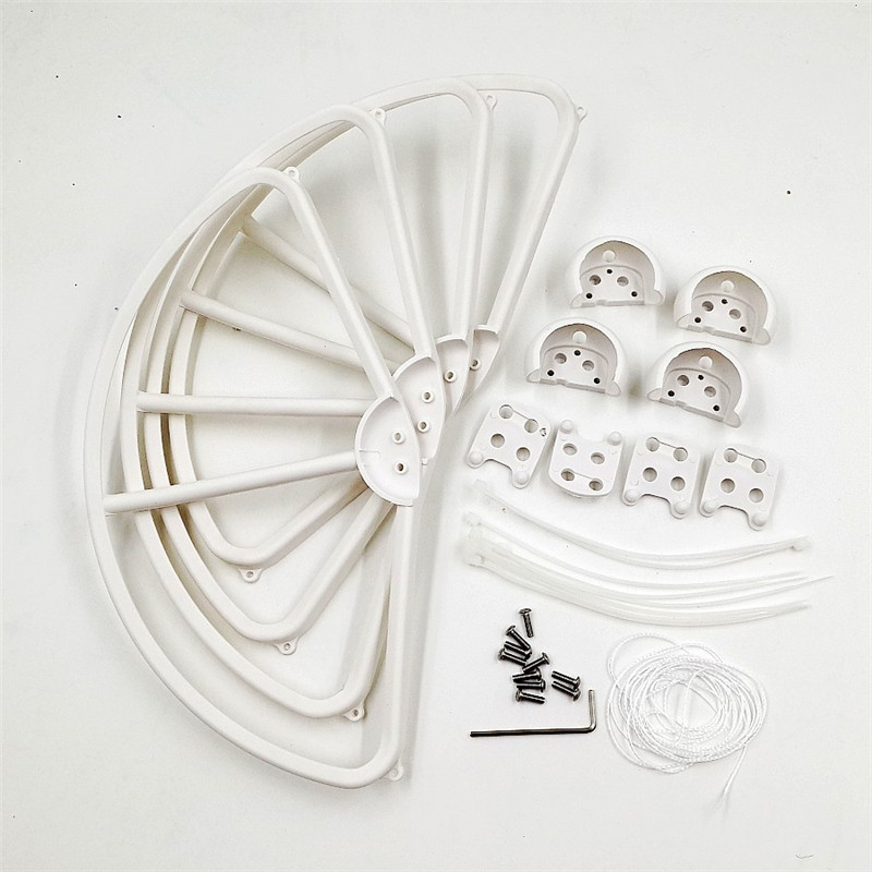 Phantom 3 Propeller Guard Props Protector 4 pcs Removable Quick Release Blade Bumper Parts For DJI Phantom 3 Drones Accessories in Propeller from Consumer Electronics