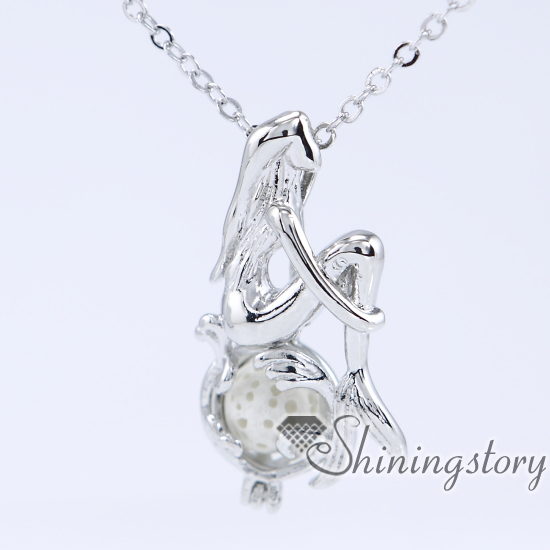 extra plated dp cage lockets com necklace locket aromatherapy diffuser long with wing on amazon diffusing silver charm
