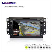 Liandlee Car Android Multimedia Stereo For Chevrolet Lova / Aveo 2006~2010 Radio BT CD DVD Player GPS Nav Navigation Audio Video