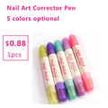 1pcs Nail Art Corrector Pen Remove Mistakes Dry Tips Pour The UV Gel Nail Polish Remover liquid Manicure Cleaner Erase