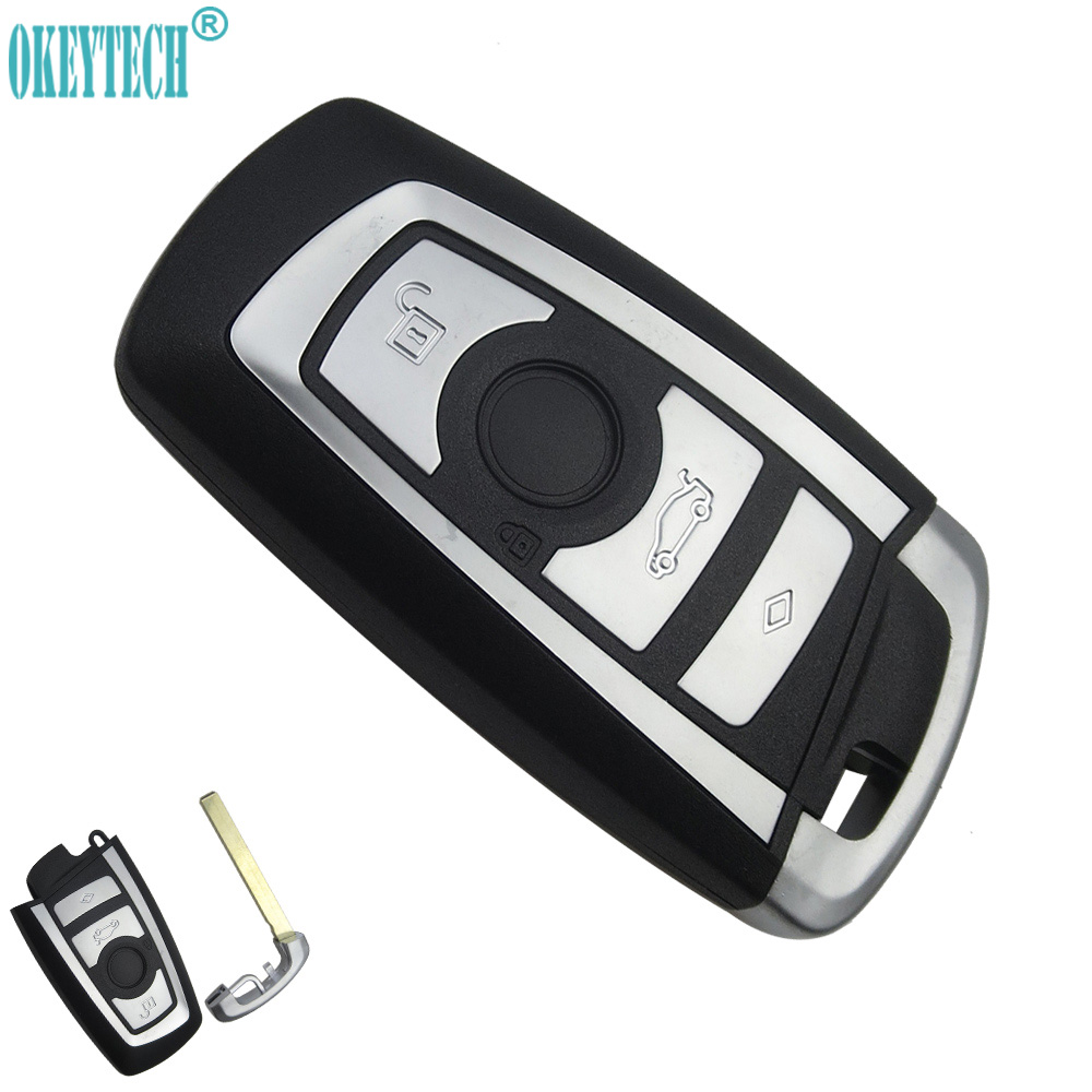 OkeyTech Replacement Modified Remote Car Key Shell For BMW 1 3 5 6 7 Series X3