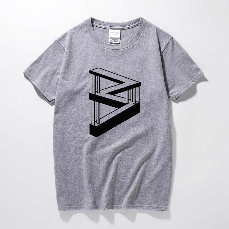 RAEEK Imkansız Uzay Baskı Tops Tees Kısa Kollu Gevşek T-shirt 2018 Hip hop gömlek Geeks Tarzı erkek giyim Tee gömlek