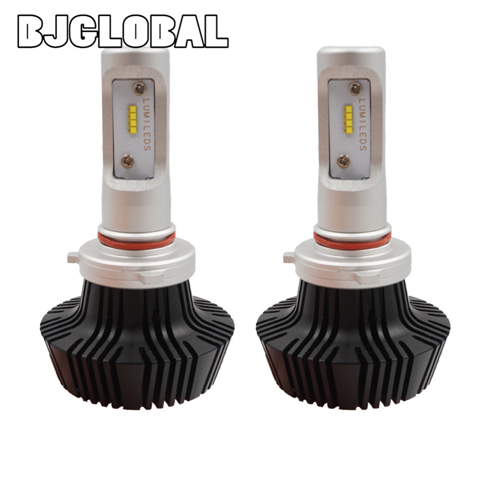 BJGLOBAL 2018 New K6 Car LED Headlight Accessories HB4 9006 Bulb Auto Front Fog Drl Bulb