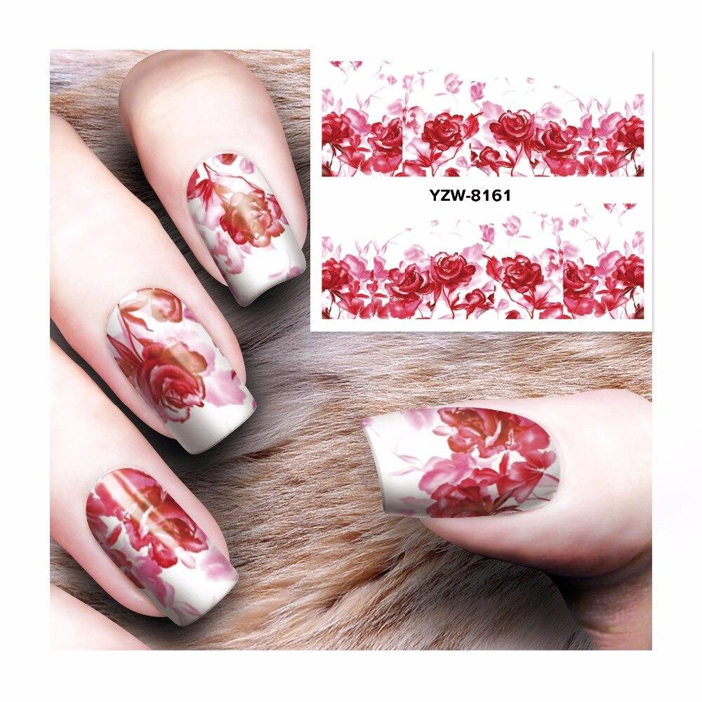 ZKO 1 Sheet 2017 New Dream Catcher Water Transfer Nail Art Sticker Decals DIY Decoration For Beauty Tools  8161