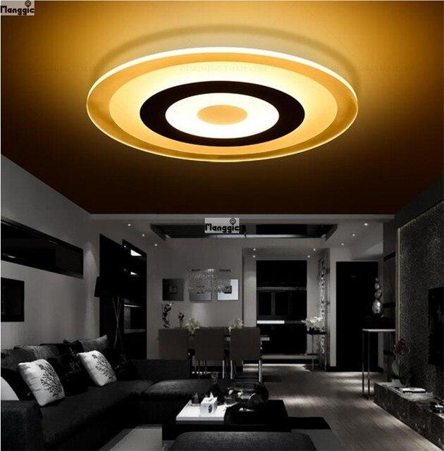 opbouw moderne led plafond verlichting woonkamer slaapkamer gang