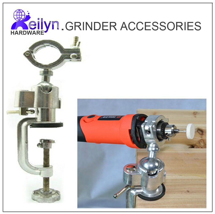 Free Shipping Grinder Accessory Dremel holder hanger stand Electric Drill Stand Dremel Rack Multifunctional bracket stand clamp free shipping drill stand press holder for 42mm electric drill machine tools workbench stand dill holder