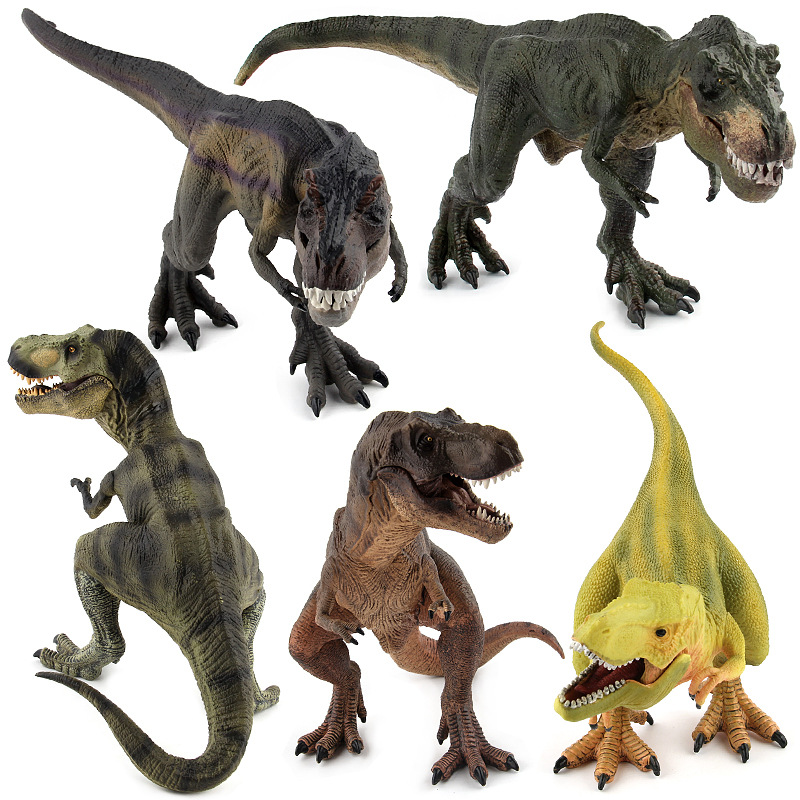 5 Styles High Quality  Big Classic Dinosaur/ Tyrannosaurus  Model Toy Plastic Play Toys Action and Figures  Best Gift big one simulation animal toy model dinosaur tyrannosaurus rex model scene