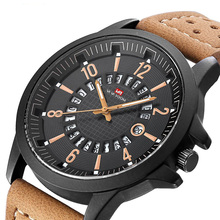 Mens Military Watch Top Brand Luxury Waterproof Man Quartz Watch Leather Sport Watches Fashion Male Wrist Watches Clock big dial watches men hour mens watches top brand luxury quartz watch man leather sport wrist watch clock alloy strap